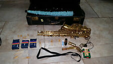 23TuneHoles SELMER Paris MARK VII 7 SAXOPHONE +1Mouth piece+Orginal leather CASE