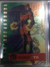 Ultra Fleer X-men Card - Suspended Animation - Magneto