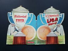 Album campeonato de liga 1960 61 fher Di Estefano Puskas Kubala Suarez  completo