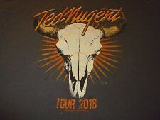 Ted Nugent Shirt ( Used Size Xl ) Used Condition!