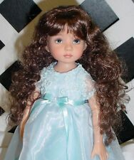 Doll Wig Monique 102 size 12/13 in Light Chestnut Brown