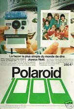 Publicité advertising 1978 Appareil Photo Polaroid 1000