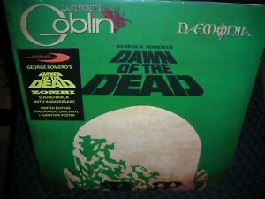 Dawn Of The Dead Soundtrack 40th Anniversary *NEW LIME COLORED RECORD LP VINYL