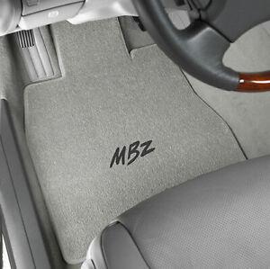 Lloyd Mats Classic Loop Grey Front Floor Mats for Mercedes-Benz 1955 to 2016