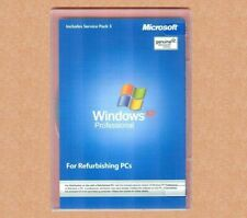 New Microsoft Windows XP Professional SP3 w RFB Disc Pro COA & CD Product Key