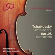 Tchaikovsky: Serenade in C/Bartok: Divertimento  SACD NUOVO