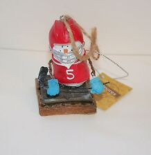 The Original Smores Hockey Player Christmas Ornament Collector New Tags