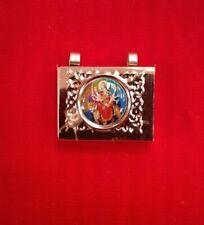 Durga maa ambe maa copper tip tabeez  amulet rectangular shape 1 inch USA Seller