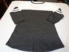 Houston Dynamo Logo MLS Licensed Women's V-Neck 3/4 Sleeve  T-Shirt Medium  W3