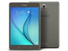 SAMSUNG Galaxy Tab A SM-T355Y Smokey titanium Brand New 1 year Samsung warranty