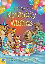 Personalised Birthday Wishes Story Softback Childrens Book