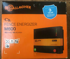 Gallagher Fence Energizer M600 - 160 Acres 6 Joules Electric Brand New
