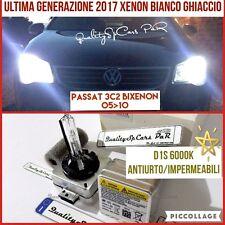 2 Lampadine XENON D1S VOLKSWAGEN PASSAT 3C 1.9 fari 6000K Luci VW R Line 2005-10