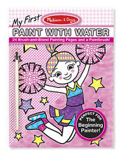 Melissa & Doug My First Paint with Water Pink – Paint, Brush & Paper in One!