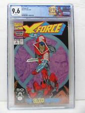 X-Force 2 - 2nd Appearance Of Deadpool - Retired Deadpool Label - CGC Graded 9.6