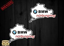 PEGATINA ADESIVO  AUTOCOLLANT ADESIVI STICKER DECAL AUFKLEBER BMW NURBURGRING