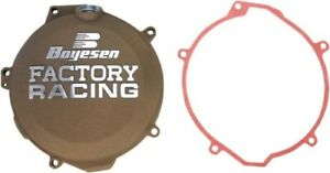 Boyesen Factory Racing Clutch Cover (MAGNESIUM) CC-44AM Fits: Husaberg FE350,FE2