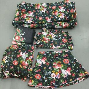 VTG Ralph Lauren Isadora Cossett Duvet Sham Bed Skirt Window Valance Duvet Cover