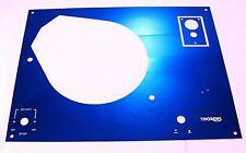 Face plate THORENS TD 145,146,147,160,165,166 - blue