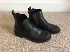 Women's black ankle boots size 38