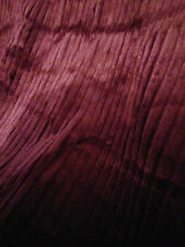 """3 yards & 13"""" of Burgundy wide wale cotton corduroy 46"""" wide"""