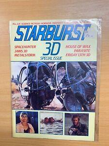 DEC 1983 STARBURST MAGAZINE #64 3D SPECIAL ISSUE - JAWS 3D / SPACEHUNTER  (LL)