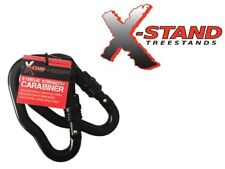 """X-Stand Treestands Black X-Treme 5,000# Strength Carabiner 2-Pack Large 5"""" x 3"""""""