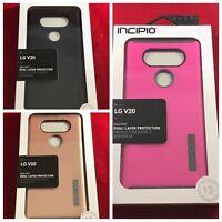 NEW LG V20 OEM Incipio DualPro Case - Black/Rose Gold/Pink