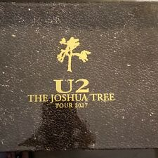 New Lmt. Ed. U2 Joshua Tree 2017 Tour Vip Commemorative Book / Harmonica