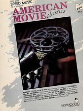 AMERICAN MOVIE CLASSIC Easy Play Music Book - for all keyboards - Vintage!