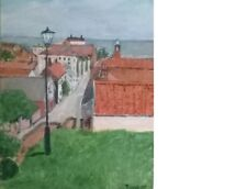 Terry George painting of Aldburgh in Suffolk