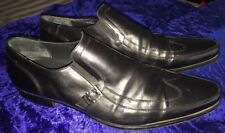 Cesare Paciotti Men's Monk Loafer Shoe, Us 10 Eur 44, (21406) Made In Italy