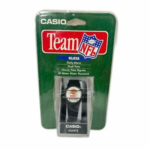 New Vintage Casio Team NFL San Francisco 49ers Niners Watch NL02A *RARE* NOS