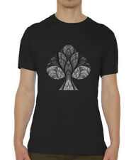 Ace Of Spades Poker Player Graphic Crew Neck Men's T Shirt