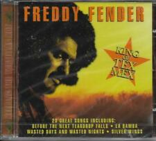 CD 20 TITRES FREDDY FENDER KING OF TEX MEX BEST OF 2000 MADE IN ISRAËL NEUF SCEL