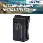 JJRC 11.4V 2400mAh LiPo Battery for JJRC X12 5G WiFi FPV RC GPS Drone Spare Part