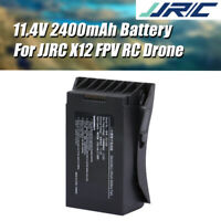 JJRC 11.4V 2400mAh LiPo Battery for JJRC X12 5G WiFi FPV RC GPS Drone Spare Part