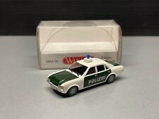 Ford Granada Polizei Limousine sedan Oldtimer Youngtimer Wiking H0 1:87 OVP