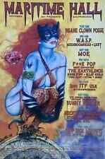 Insane Clown Posse Concert Poster Maritime Hall 2001