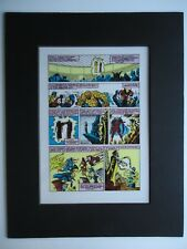 1987 AVENGERS GIANT-SIZE ANNUAL # 16 BOB HALL & TOM PALMER PAGE 3 PRODUCTION ART