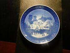 Royal Copenhagen Denmark Cathedral Plate! Gg215Xcx