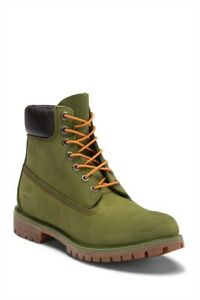 Brand New Men's Pesto (Green) Timberland 6inch Boots Size 8 Very Nice!!