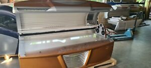 New Technology Suncraft 400 profi Solarium Sonnenbank              Porta de sol