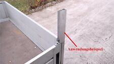 Alu Spriegel End Profil 200cm 2m (8€/m) Bordwand Spriegelbrett