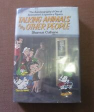 TALKING ANIMALS Shamus Culhane autobiography - 1st HCDJ 1986 - Popeye Betty Boob