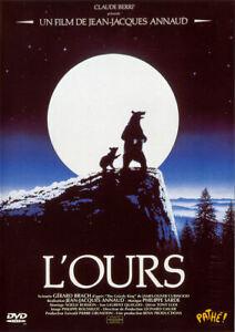 """"""" L'ours """" DVD - Film de JEAN-JACQUES ANNAUD"""