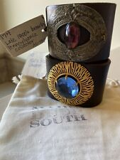 South Leather Cuffs! Made In The Deep