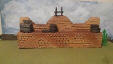 Barzso Battle Of Churubusco Fortification Wall. Works well with Alamo   54mm