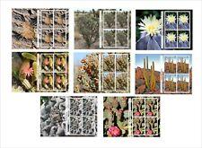 2011 CACTUS  PLANT 16 SOUVENIR SHEETS MNH UNPERFORATED PLANTS