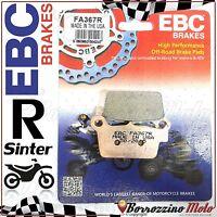 PASTIGLIE FRENO POSTERIORE SINTER EBC FA367R GAS GAS EC 250 2010